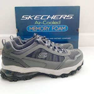 NWOT Sketchers Men's Air Cooled Memory Foam Shoes